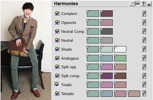 comment assembler les couleurs le guide ultime jamais vulgaire blog mode homme magazine et. Black Bedroom Furniture Sets. Home Design Ideas