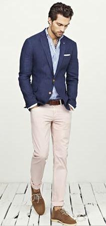 Guide comment bien porter les chinos et pantalons colores avec des astuces pour grandir - Quelle couleur avec pantalon bleu marine ...