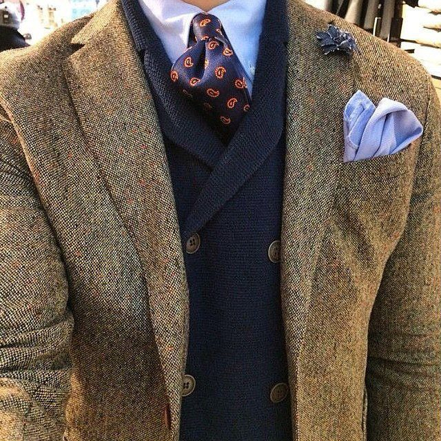 bien s 39 habiller en hiver comment porter un blazer en tweed test de la veste de fursac et. Black Bedroom Furniture Sets. Home Design Ideas