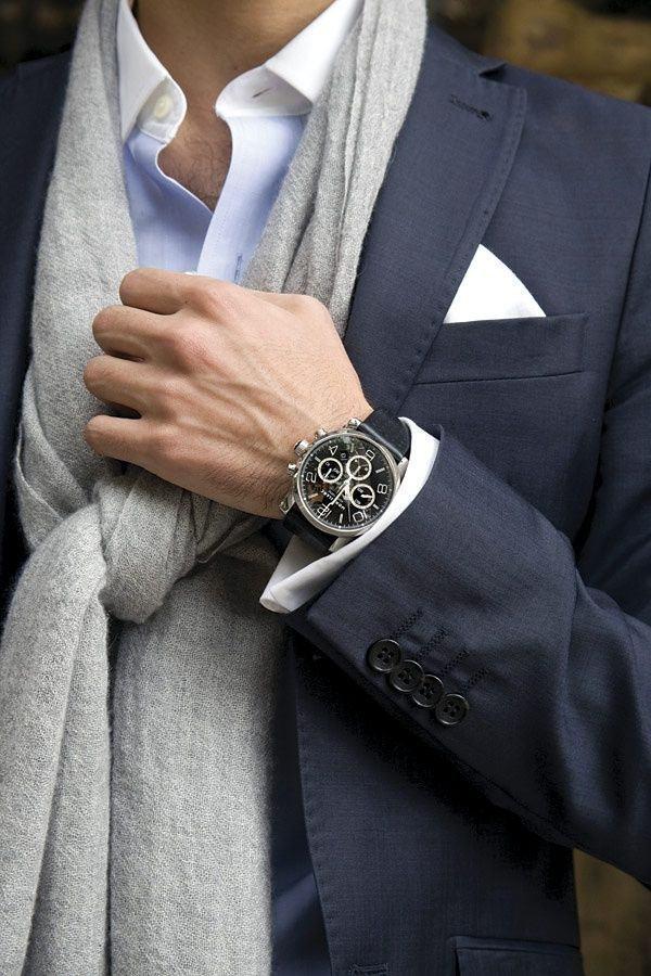 Conseils de style comment bien porter une echarpe pour for Men a porter