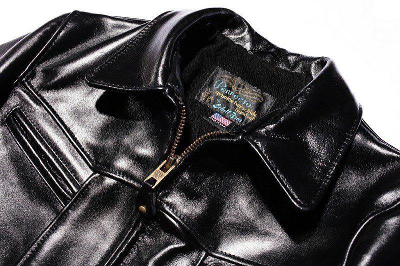 veste cuir louboutin homme