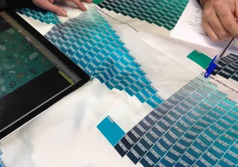 Creer une cravate de a a z du dessin du motif jusqu 39 a la confection exe - Confection textile paris ...